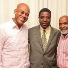 Michel Martelly, Enex Jean-Charles and Rene Preval