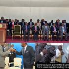 Evans Paul as Enex Jean-Charles and 15 cabinet members sworn in