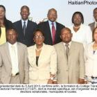 The Nine member CEP (CTCEP) formed in April, 2013