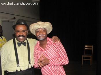Tonton Bicha And Aubry Blague In Comedy
