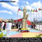 Inauguration of the square Hugo Chavez