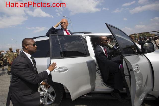 Michel Martelly, Discours d'adieu à la Nation