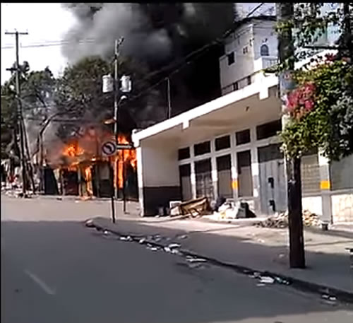 Fire in Petion-Ville