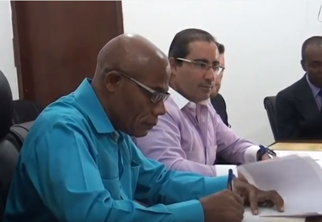 Agreement Marc Antoine Acra of NABATCO and Haiti Government