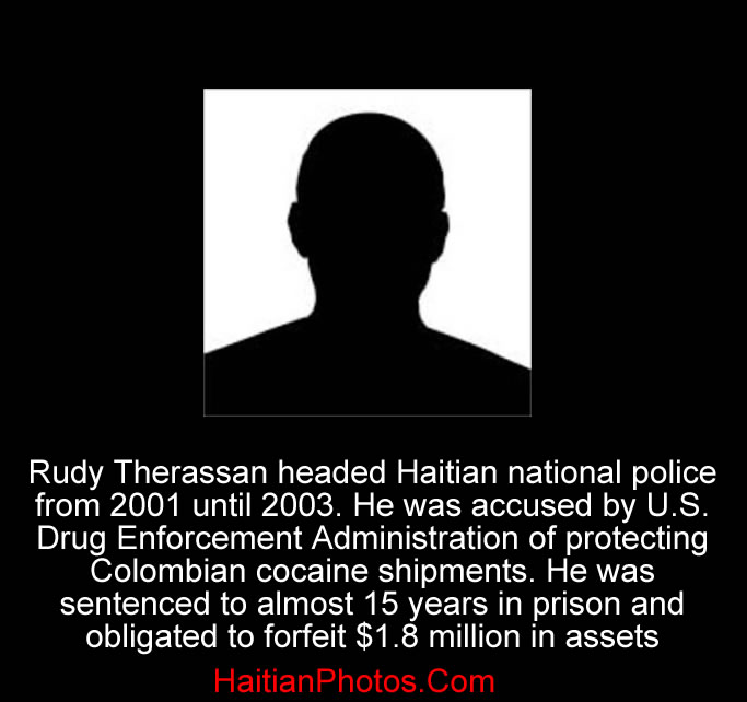 Haiti's former national police chief, Rudy Therassan