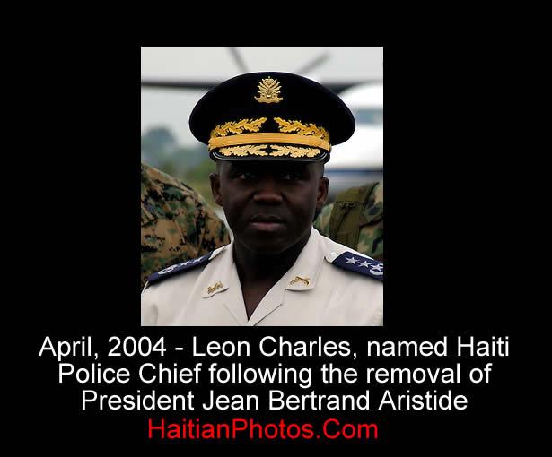 Leon Charles, named Haiti Police Chief
