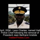 Leon Charles, named Haiti Police Chief