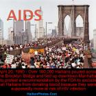 Haitians Marched Against AIDS