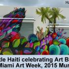 Little Haiti celebrating Art Basel during Miami Art Week, 2015