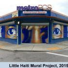 Little Haiti Art Basel, 2015 - NE 2nd Ave and 54th Street Mural