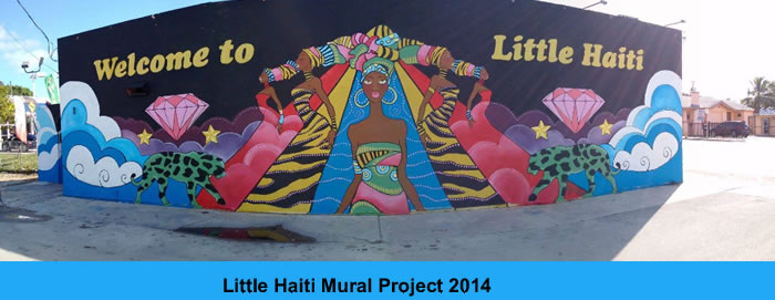 Little Haiti Mural - Welcome to Little Haiti
