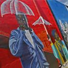 mural at Little Haiti Soccer Park