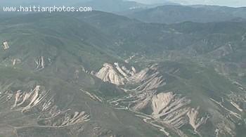 View Of Haiti Mountain