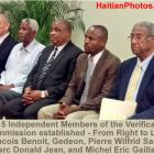 The 5 Independent Members of the Verification Commission