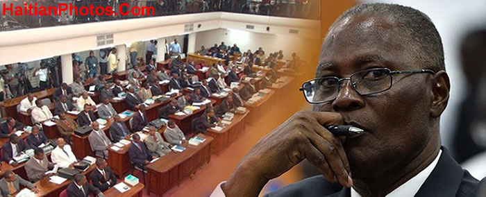 Jocelerme Privert and the Haitian Parliament