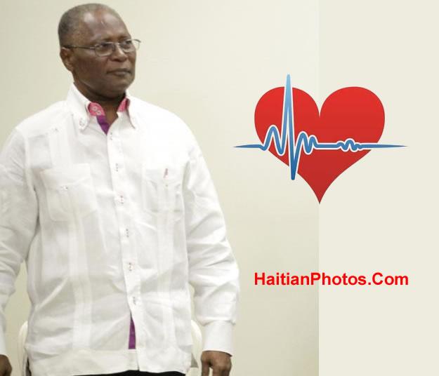 Jocelerme Privert Health status