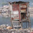 A community Latrine in Haiti