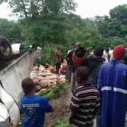 Major road accident Coupe Limbe