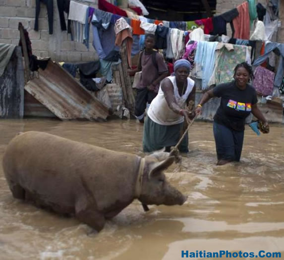 Flooding in Haiti, thousands of families affected