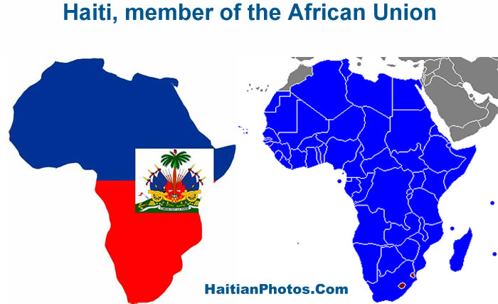 Haiti, member of the African Union