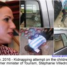Kidnapping attempt on the children of Stéphanie Villedrouin