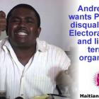 Andre Michel wants PHTK disqualified, listed as terrorist organization