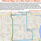 Official Map Little Haiti Miami