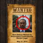 Roro Nelson, a fugitive wanted by Danton Leger