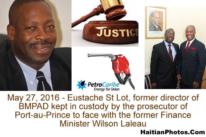 Eustache St Lot, former director of BMPAD in custody