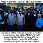 Haiti National Council of Government