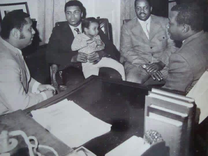Muhammad Ali and Jean-Claude Duvalier