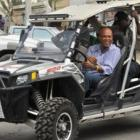 President Michel Martelly riding