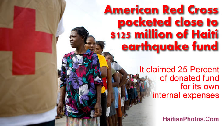 American Red Cross pocketed $125 million of Haiti earthquake fund
