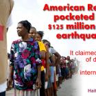 American Red Cross pocketed 125