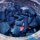 Charcoal Cooking Haitian Food