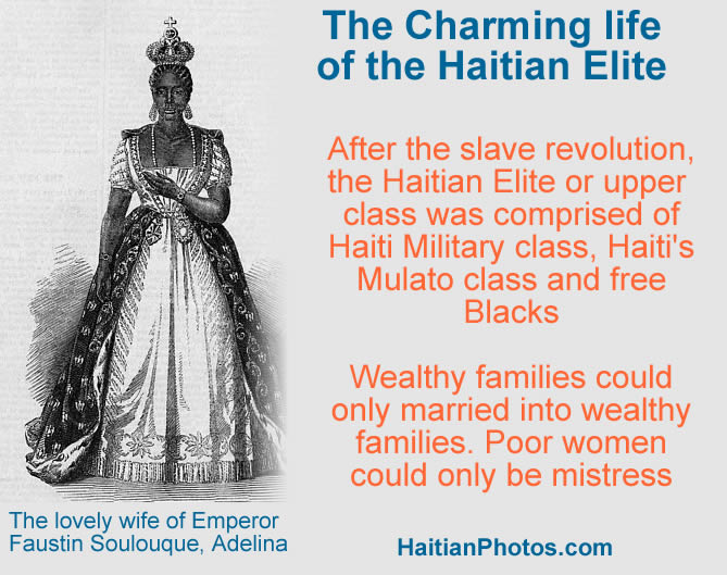 The Charming life of the Haitian Elite class