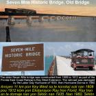Seven Mile Historic Bridge in Key West, Old Bridge