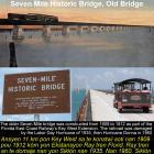 Seven Mile Historic Bridge in Key West, Old Bridge