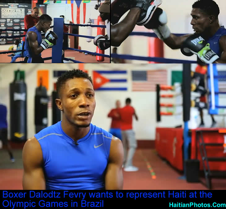 Boxer Dalodtz Fevry wants to represent Haiti at Olympic Games in Brazil