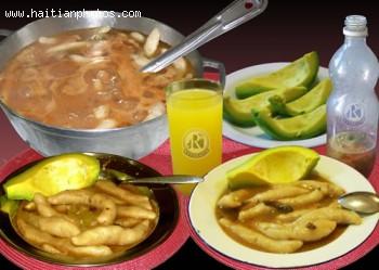 Typical Haitian Food, Avocado