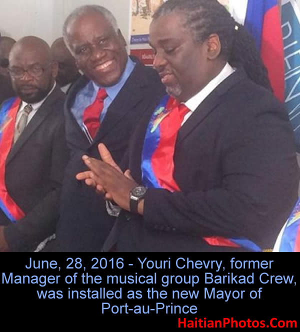 Youri Chevry, from Barikad Crew to Mayor of Port-au-Prince