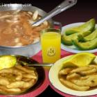 Typical Haitian Food Avocado