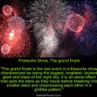 Fireworks Show, The grand finale