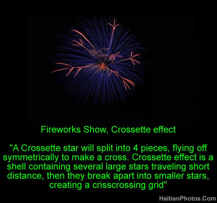Fireworks Show, Crossette effect