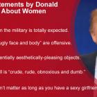 Donald Trump and his famous statement about Women