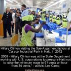 Hillary Clinton Stopped Haiti from Increasing Minimum Wage