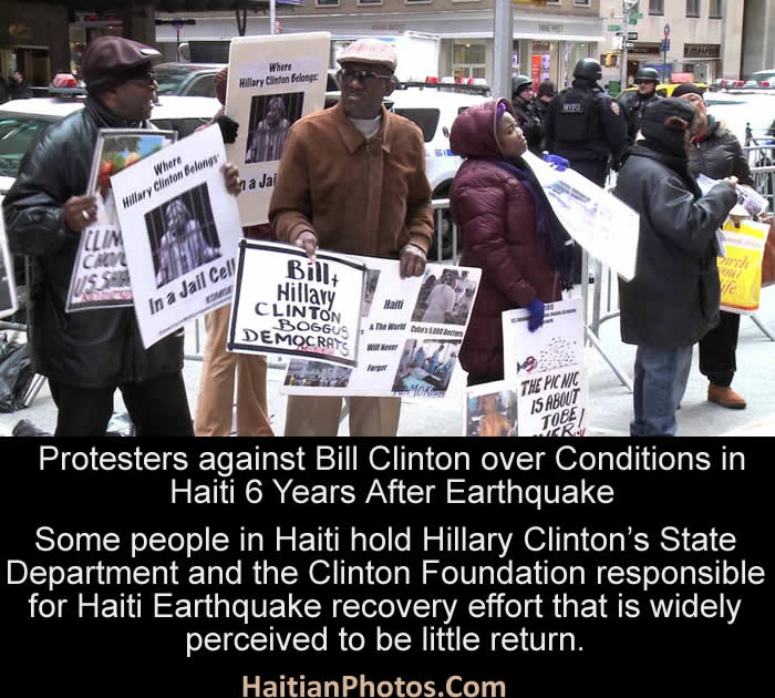 The Clinton's accused for wasting Haiti recovery fund