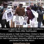 Clinton accused wasting Haiti