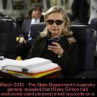 Hillary Clinton, the email controversy