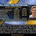 Hillary Clinton and her $200,000 Wall Street Speeches